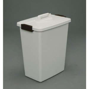 アイリスオーヤマ 角型ペール バケツ・ペール (ホワイト) MK-45|rcmdin