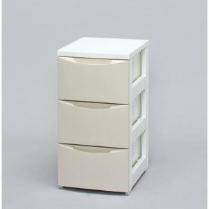 アイリスオーヤマ スリムチェスト CODシリーズ ホワイト/アイボリー COD-323|rcmdin