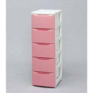 アイリスオーヤマ スリムチェスト CODシリーズ ホワイト/ピンク COD-325|rcmdin