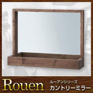鏡 ミラー 卓上ミラー Rouen ルーアン rcmdin