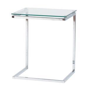 テーブル ガラスサイドテーブル PT-15CL|rcmdin
