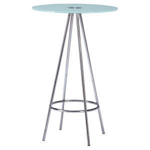 テーブル ガラスカウンターテーブル ポリー PT-212 rcmdin