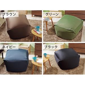 ビーズクッション 日本製 メガキューブ 65×65cm  国産極小ビーズ クッション|rcmdin|03