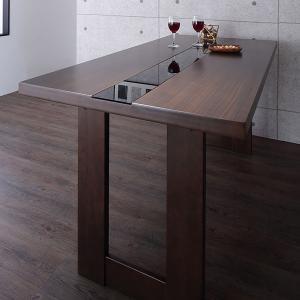 ダイニングテーブル W150 アーバンモダンデザインダイニング【giovanna】ジョヴァンナ テーブルW150 ブラウン【テーブル単品】代引不可|rcmdin
