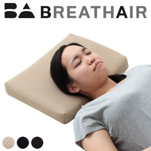 ブレスエアー(R) 枕 ブレスエア 洗える 日本製 東洋紡 三次元スプリング構造体 ブレスエアー(R)使用枕 高めメッシュカバー付き|rcmdin