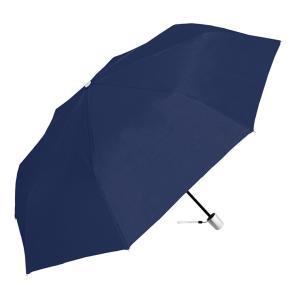 8本骨折畳傘 ネイビー 55cm 傘 カサ 8本骨 耐風 グラスファイバー|rcmdin