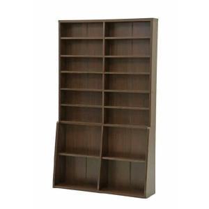 書棚120 BK-1220 ブラウン rcmdin