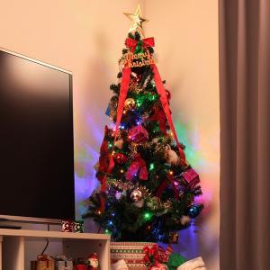 クリスマスツリー 90cm オーナメントセット ツリー オー...