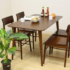 ダイニングテーブル テーブル 木目 ダイニング 机 4人掛け エクレア DBR|rcmdin