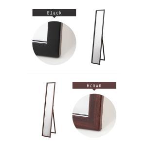 木製スタンドミラー 姿見 鏡 全身鏡 ミラー ...の詳細画像2
