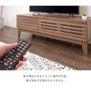 テレビ台 ライン 120幅 幅120cm テレビボード 格子 シンプル ローボード 組み立て 組立 AVボード AVラック TVボード 木製 TV台 代引不可|rcmdin|11