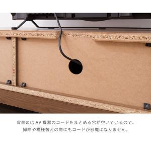 テレビ台 ライン 120幅 幅120cm テレビボード 格子 シンプル ローボード 組み立て 組立 AVボード AVラック TVボード 木製 TV台 代引不可|rcmdin|13