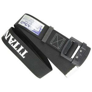 タイタン 安全帯用胴ベルトB 黒黒 B-SNH-L-ロゴ 代引不可