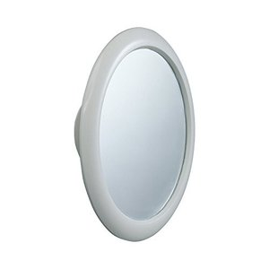 レック バス用 くもらない 見える ミラー 丸型 風呂用 くもり止め 曇り止め 鏡