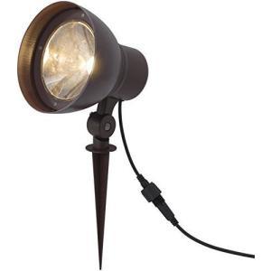 タカショー ソーラーハイパワーアップライト2型 アンティークブラウン約W14×D15×H18cm