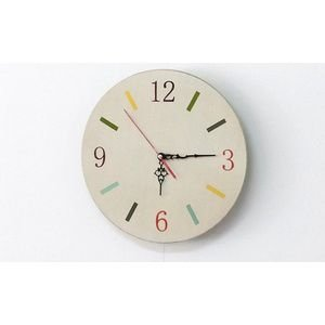 雑貨時計 丸 くれよん 時計 丸|rcmdin