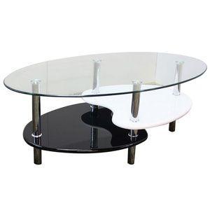 リビングテーブルガラステーブルゴースト rcmdin