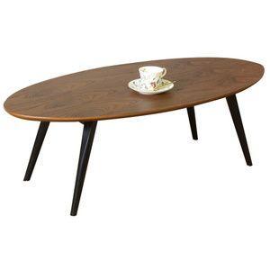 リビングテーブル100 オーバルテーブルハマー 100 オーバルテーブル rcmdin