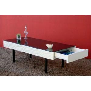 【SUR/シュール】 リビングテーブル センターテーブル テーブル リビングテーブル 机 リビング 鏡面 モノトーン|rcmdin