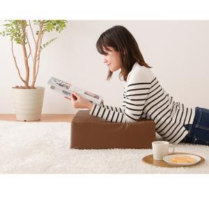座布団 合皮 レザークッション 45×45×厚さ15cm 正方形 ウレタン クッション 椅子 座椅子 フロアクッション 座布団|rcmdin|08