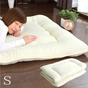 敷き布団 敷布団 シングル 極厚 日本製 柄おまかせ 合繊敷き布団 シングル 寝具 柄 ランダムの写真