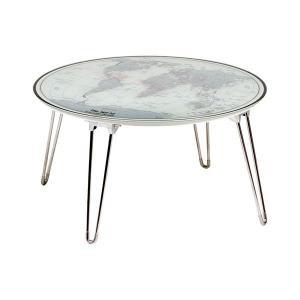 折りたたみテーブル LP-9013 ガラステーブル 机 テーブル デスク rcmdin