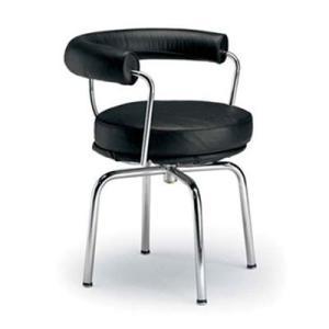 コルビジェ オフィスチェア LC7 スウィベルチェア デザイナーズ チェア ル・コルビジェ 代引不可|rcmdin