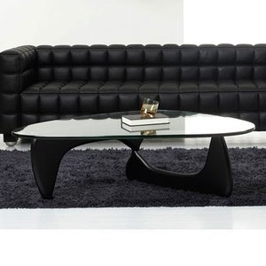 ノグチテーブル19mm 選べる脚部2タイプ イサムノグチ コーヒーテーブル ローテーブル ガラステーブル 代引不可 rcmdin