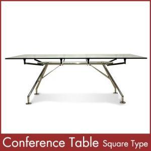 カンファレンステーブル 角型 Conference Table Square Type 1年保証付|rcmdin