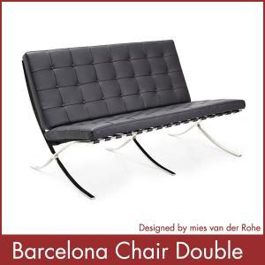 バルセロナチェア ダブル Barcelona Chair ミース・ファン・デル・ローエ 1年保証付 送料無料|rcmdin