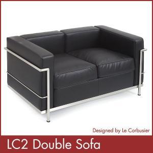 ル コルビジェ LC2 ダブルソファー Le Corbusier コルビジェ ソファー デザイナーズ 家具 1年保証付 送料無料|rcmdin