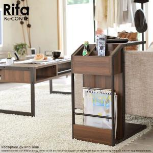 机 テーブル サイドテーブル Re・CONTE Rita(リタ) DRT-0008 rcmdin