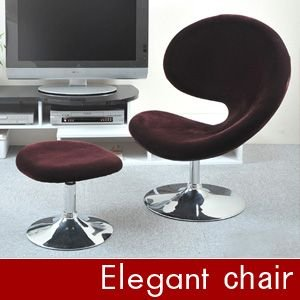 J-CHAIR(オットマン付き) 椅子 チェア|rcmdin