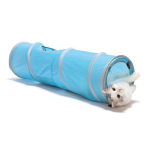 猫壱 キャットトンネル スパイラル ブルーの商品画像