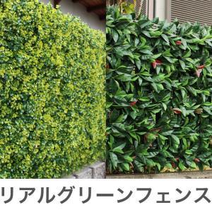 リアルグリーンフェンス 1m×1m ボックスウッド グリーンカーテン 日よけ フェイクグリーン 観葉植物 おしゃれ 装飾 代引不可|rcmdin