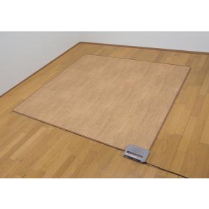 【商品名】 ホットフローリングカーペット 2畳用 【サイズ】 約175×175cm 【規格】 消費電...