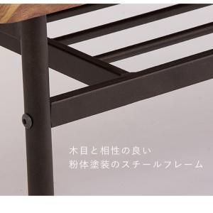棚付収納センターテーブル テーブル 木製 木目 ローテーブル リビングテーブル コーヒーテーブル 収納付き 幅90cm シンプル rcmdin 13
