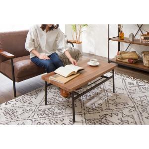 棚付収納センターテーブル テーブル 木製 木目 ローテーブル リビングテーブル コーヒーテーブル 収納付き 幅90cm シンプル rcmdin 05