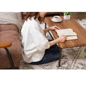 棚付収納センターテーブル テーブル 木製 木目 ローテーブル リビングテーブル コーヒーテーブル 収納付き 幅90cm シンプル rcmdin 08