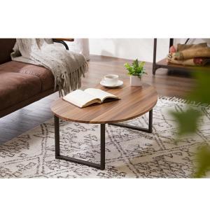 変形デザインセンターテーブル テーブル デザインテーブル 木製 木目 ローテーブル リビングテーブル コーヒーテーブル rcmdin 03