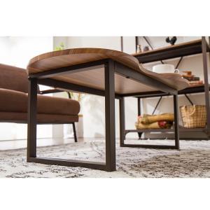 変形デザインセンターテーブル テーブル デザインテーブル 木製 木目 ローテーブル リビングテーブル コーヒーテーブル rcmdin 08