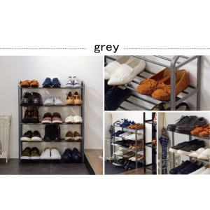 シューズラック 5段 収納 靴箱 シューズボッ...の詳細画像3