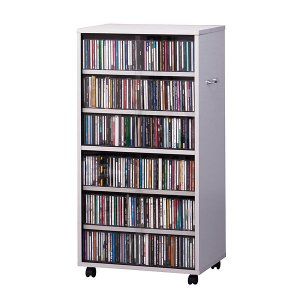 CD DVD ビデオ収納 メディア収納 ワイド型|rcmdin