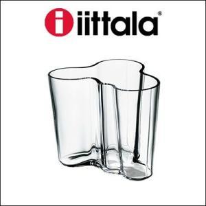 iittala イッタラ Alvar Aalto Collection フラワーベース クリア 95mm|rcmdin