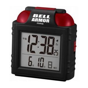 ノア精密 MAG ベルアーマー 置き時計 T-734 BK-Z ブラック