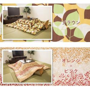 日本製 こたつ布団 オックス 正方形 185×...の詳細画像2