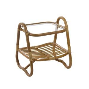 天然籐 リビングラックテーブル ベッド ソファ サイド ナイト テーブル 収納 カントリー ナチュラル 木製 ラタン アジアン 和風 代引不可 rcmdin