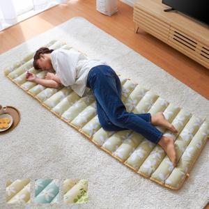 ごろ寝クッション ガーゼ&パイル ごろ寝 クッション ロングクッション ごろ寝マット 長座布団 クッション マットの写真