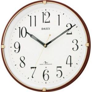 リズム時計製 電波掛け時計 デイリー MY05 4MYA05|rcmdin