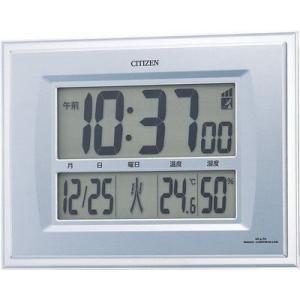 シチズン 電波掛置き兼用時計 パルデジットコンビ R058 8RZ058-019|rcmdin